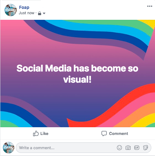 Example Of Visual Social Media